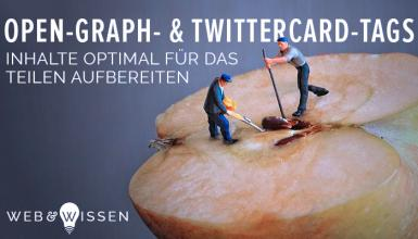 Open-Graph-Tags und Twittercards