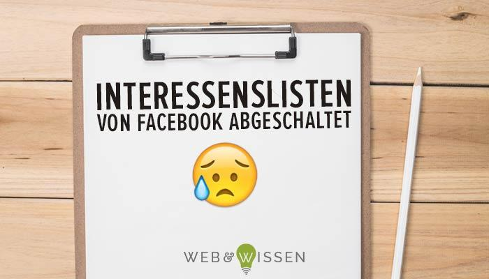 Facebook Interessenisten Alternative